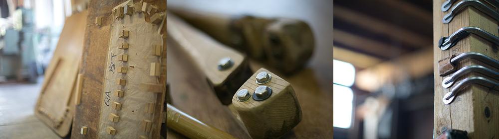 籐家具づくりの道具