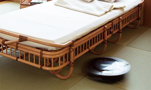 ベッド下清掃